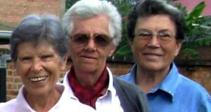 From left: Bernardetta Boggian, Olga Raschietti and Lucia Pulici, three Italian nuns murdered while working as missionaries in Burundi. EPA/Sandro Capatti/Xaverian Missionaries of Parma