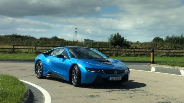 Video Bmw S I8 Has Star Appeal On Irish Roads