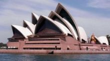 Sydney Opera House. The jobless rate in Australia fell back to 6.1 per cent, so reversing most of July's unexpected jump to 6.4 per cent