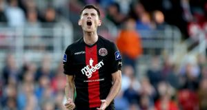Bohemians' Dinny Corcoran: last year the club,  with 11 league titles, suffered a 14 per cent drop in its revenues to €675,000.  Photograph:  INPHO/Ryan Byrne
