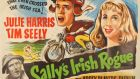 A vintage poster for the film Sally's Irish Rogue, the first film to be made at Ardmore Studios in Bray, Co Wicklow