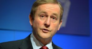 Enda Kenny: two of his key election strategists have left his side in recent months. Photograph: Eric Luke
