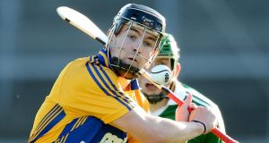 Clare's Tony Kelly: he may well hit form for the climax of the championship today. Photograph: INPHO/James Crombie