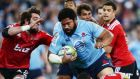 Tatafu Polota Nau of the Waratahs is key to Wallabies' hopes.  Photograph:  Matt King/Getty Images