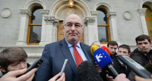 Newly appointed EU agriculture commissioner Phil Hogan can employ up to three cabinet members from Ireland. Photograph: Alan Betson