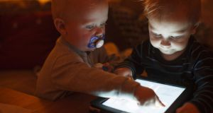 It may surprise, but tech gurus are limiting the amount of screen time their children get. Photograph: Anders Andersson/Getty