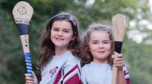 Katie Mae (9) and Ellie (7) O'Sullivan, from Kilmainham, Dublin. Photograph: Marc O'Sullivan
