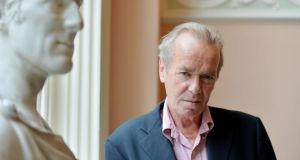 Martin Amis: holding a mirror up to the death camps. Photograph: Alan Betson