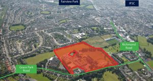 The buildings and 10 acres of development land at St Joseph's campus on Grace Park Road in Drumcondra