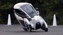 Toyota's three-wheeler aims to bring city bike rental schemes to next level