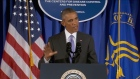 U.S. President Barack Obama says that the Ebola epidemic in West Africa is