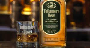 Tullamore Dew  is now the second biggest Irish whiskey brand after Jameson.