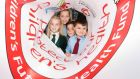 Max Barry (5), Ellie Mooney (7), Evan Wilkes (10) and Sophie Kirwan (11) at the Irish Heart Foundation's pre-budget submission calling fora €30 million fund to tackle Ireland's childhood obesity crisis. Photograph: Sasko Lazarov/Photocall Ireland