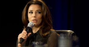 Desperate Housewives actress and angel investor Eva Longoria, who has been confirmed as a speaker at this year's Web Summit. Photo: Bloomberg