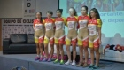 Colombia's female cyclist team has given a press conference about their controversial uniforms. The team told media that their nude-looking uniform was not intended to appear that way, but that they will continue to wear it. Video: Reuters