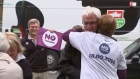 Alistair Darling votes in historic Scotland referendum