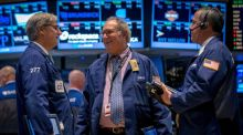 Traders on the floor of the New York Stock Exchange. The fund run by Covestone beat rival funds managed by much larger financial institutions such as Davy, Irish Life, Merrion, Bank of Ireland, Ulster Bank and Zurich. Photograph: Reuters