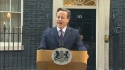 British Prime Minister David Cameron says the question of Scottish independence had been settled