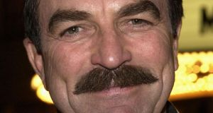 'I could challenge Tom Selleck in a tache-growing competition.' Photograph: Vince Bucci/Getty Images