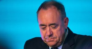 Alex Salmond has decided to stand down as Scottish first minister following his defeat in the Scottish referendum. Photograph: Getty