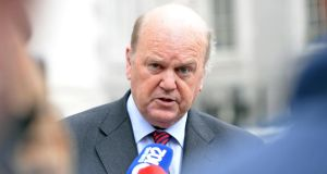 "Minister for Finance Michael Noonan. In a 20-page report in which it calls on the Coalition to maintain a ""prudent"" fiscal stance in the budget next month, the Irish Fiscal Advisory Council questions whether the correct course now is to scale back on what was to be the final big push in the settled plan to assert control over State finances. Photograph: Eric Luke"