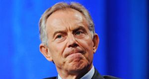 The UK and other Western powers should be prepared to commit ground troops to fight against extremists like Islamic State, former British prime minister Tony Blair has said. Photograph:  Gus Ruelas/Reuters.