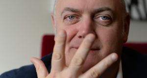 Like the best comedians, Ó Briain isn't just about the gags. Photograph: Cyril Byrne / THE IRISH TIMES