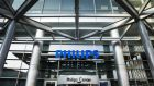 Electronics and lighting company Philips announced that it will add the divisions healthcare and consumer lifestyle together under the name HealthTech and the light division will become independent.Photograph: EPA/REMKO DE WAAL