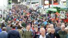 Crowds at the Ploughing: A new plan to tackle the theft of farm machinery was announced  at the National Ploughing Championships.  Photograph: Eric Luke / The Irish Times