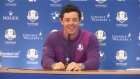Europe's Rory McIlroy enjoyed a pep talk from Alex Ferguson ahead of the Ryder Cup which starts on Friday. Video: Reuters