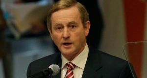 An Taoiseach Enda Kenny missed last night's meeting of the Fine Gael parliamentary party  as he is in New York.