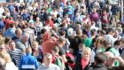 A section of the large crowd this week at the ploughing championships at Ratheniska, Co Laois. Photograph: Eric Luke/The Irish Times