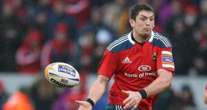 Former Munster lock James Downey has signed a two-year deal with Glasgow. Photograph: Inpho.