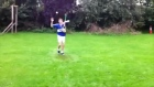 Amazing freestyle hurling skills from young Laois player