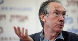 Ian McEwan: efficiently infiltrates the legal world and its hierarchy of clever debate conducted upon the chessboard of the law, but his novel is knowing and corny. Photograph: Uriel Sinai/Getty Images