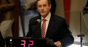 This week's visit was Enda Kenny's third  to the United States this year, and he is due back in New York  in November for a business dinner. Photograph: Peter Foley/EPA