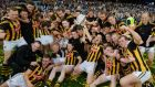 Kilkenny celebrate victory over Tipperary in the All-Ireland Senior Hurling Final 2014 replay at Croke Park. Photograph: Alan Betson/The Irish Times