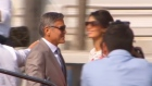 George Clooney says goodbye to single life