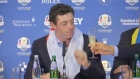 Ryder Cup celebrations spill into press conference