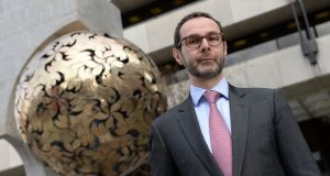 Cyril Roux, Central Bank regulator, is to join the board of the European Securities and Markets Authority. Photograph: Dara Mac Dónaill / The Irish Times