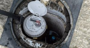 that 'Unlawful protests' against the installation of water meters are still taking place in Dublin in breach of injunctions, the High Court heard today. Photograph: Cyril Byrne/The Irish Times