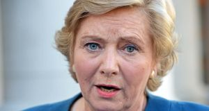 Minister for Justice Frances Fitzgerald: is to bring a memo to Cabinet today proposing that a referendum be held on the issue. Photograph: Eric Luke/The Irish Times