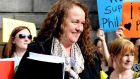 Philomena Canning,  who provides home birth services, sought injunction against HSE. Photograph: Cyril Byrne / THE IRISH TIMES