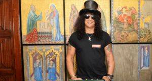 "Slash, 2014: ""As far as the industry is concerned, rock and roll is very much the ugly cousin. I sort of dig that."" Photograph: Dave J Hogan/Getty"