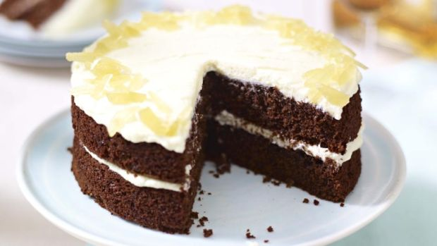Mary berrys gorgeous ginger and chocolate cake fandeluxe Choice Image