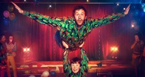 Chris O'Dowd and David Rawle in Moone Boy: the sitcom about growing up in the 1980s and 1990s in Boyle, Co Roscommon has been a big hit for Sky