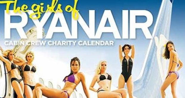 """07425c44a4420 The 2009 The Girls of Ryanair Calendar. Michael O'Leary says new Ryanair """""""
