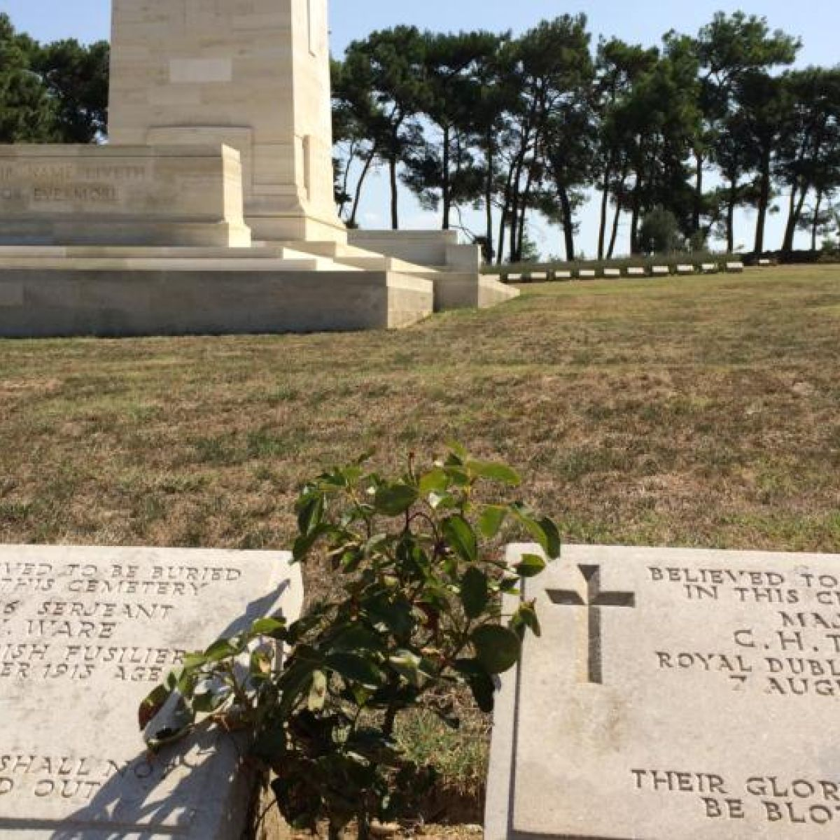 Gallipoli: the final resting place