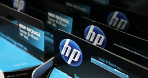 Hewlett-Packard is expected to announce today that it will split the company into two separate companies, a personal-computer and printer business, and corporate hardware and services operations. Photograph: Justin Sullivan/Getty Images