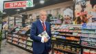Leo Crawford, group CEO, BWG, pictured at the SPAR Retailers conference in Killarney yesterday. The group behind the chain of convenience stores will open a further 50 stores by 2016. Photograph:  Don MacMonagle
